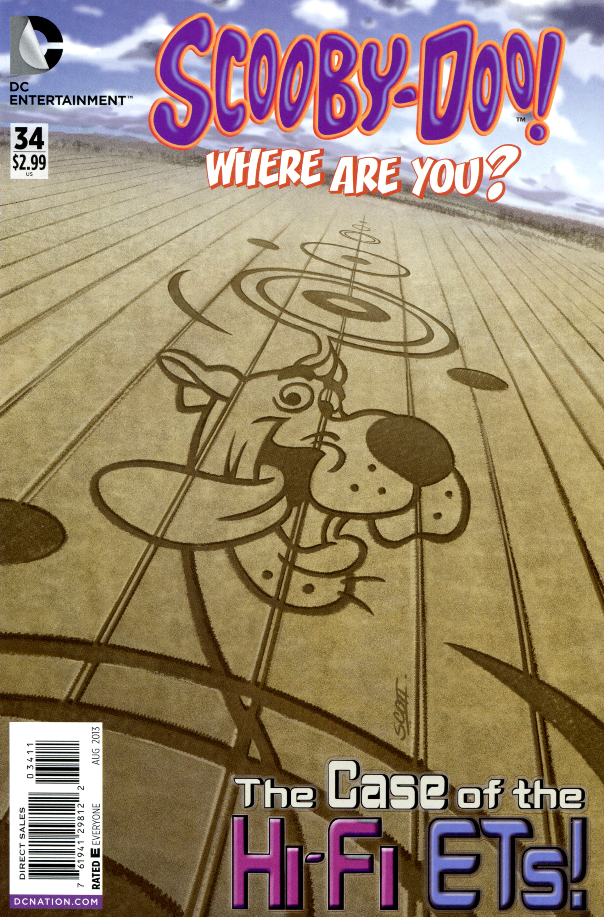 Read online Scooby-Doo: Where Are You? comic -  Issue #34 - 1