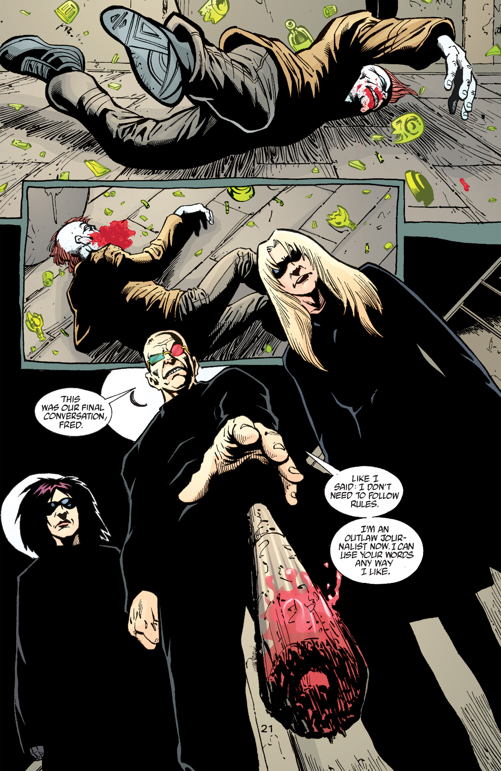 Read online Transmetropolitan comic -  Issue #50 - 22