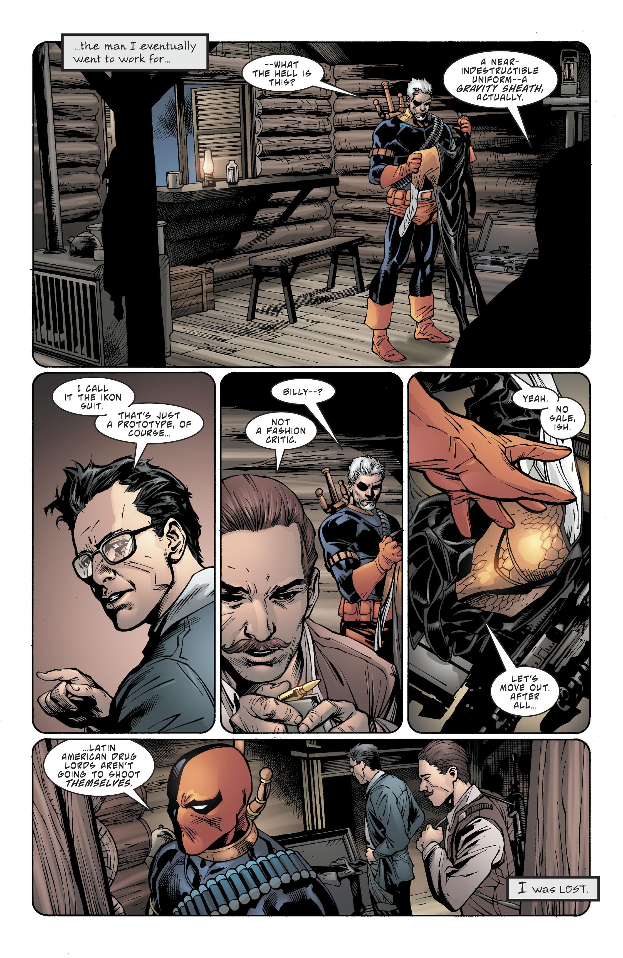 Read online Deathstroke (2016) comic -  Issue #20 - 6