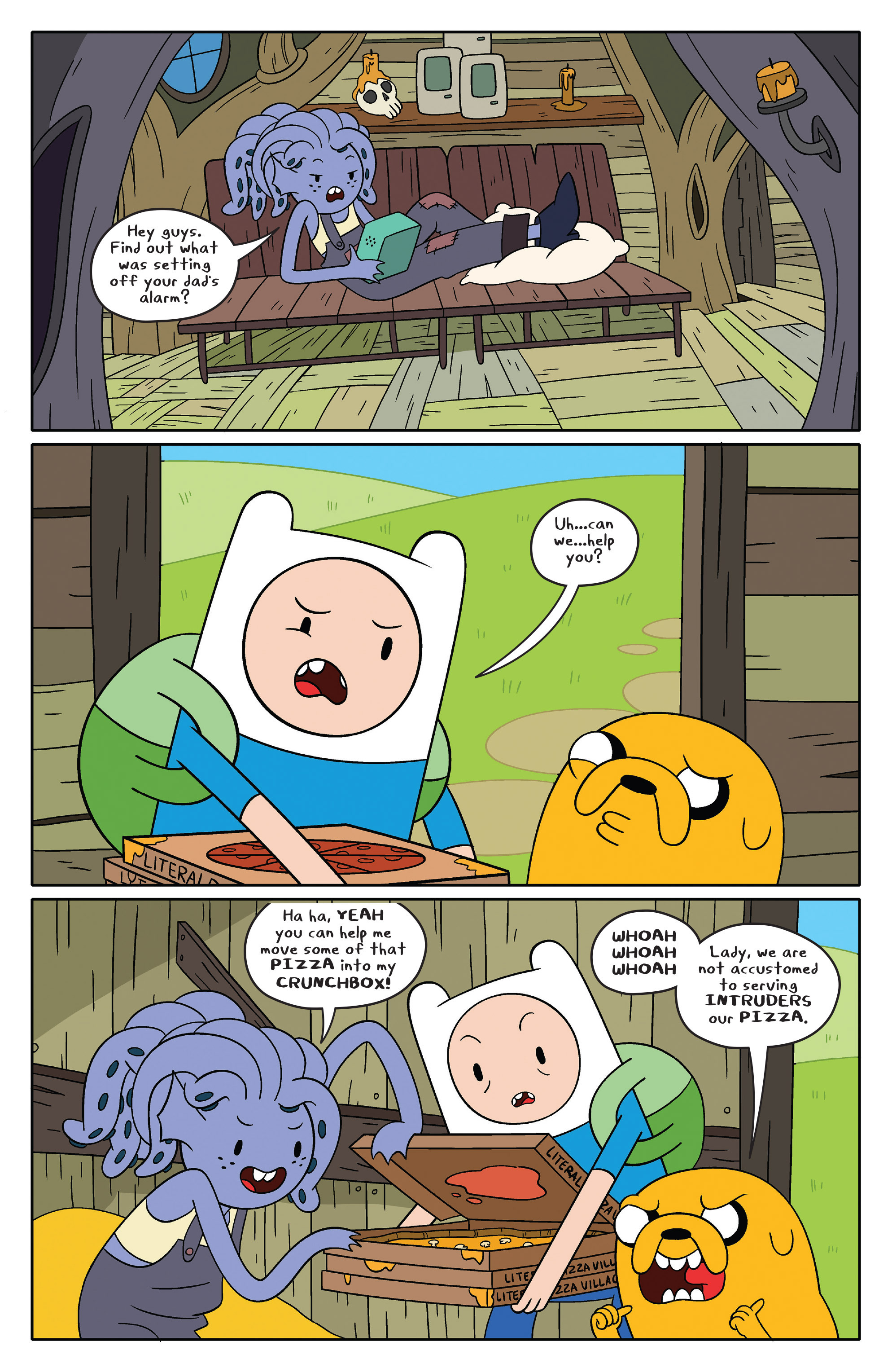 Read online Adventure Time comic -  Issue #46 - 13