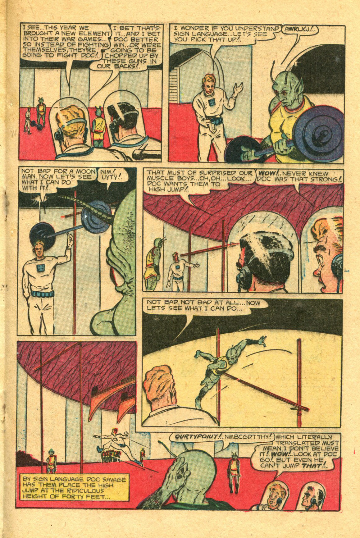 Read online Shadow Comics comic -  Issue #98 - 25
