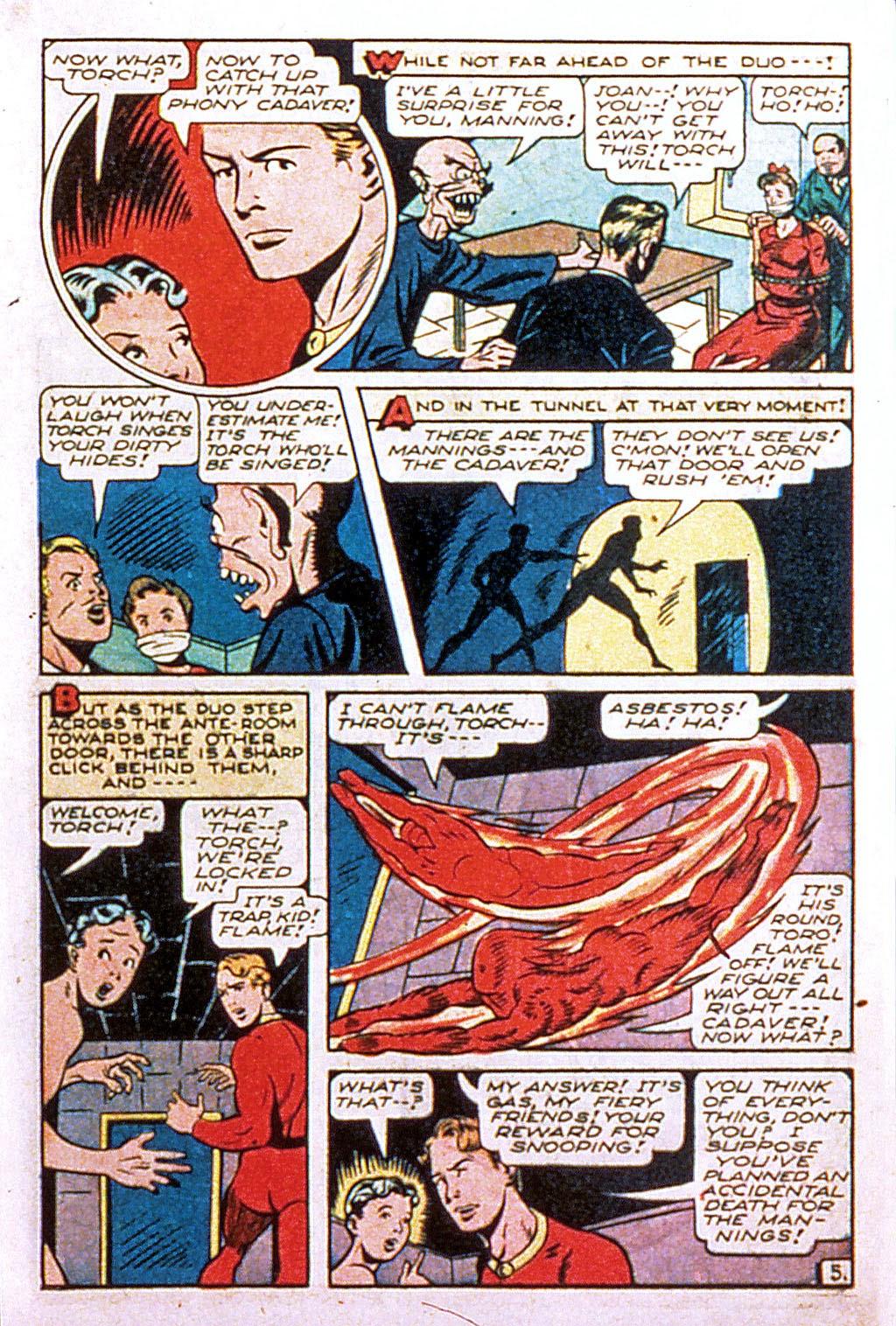 Read online Mystic Comics (1944) comic -  Issue #2 - 23