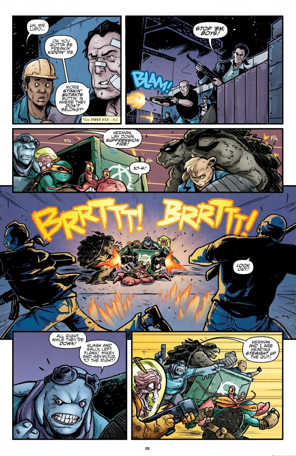Read online Teenage Mutant Ninja Turtles: The IDW Collection comic -  Issue # TPB 7 (Part 1) - 67