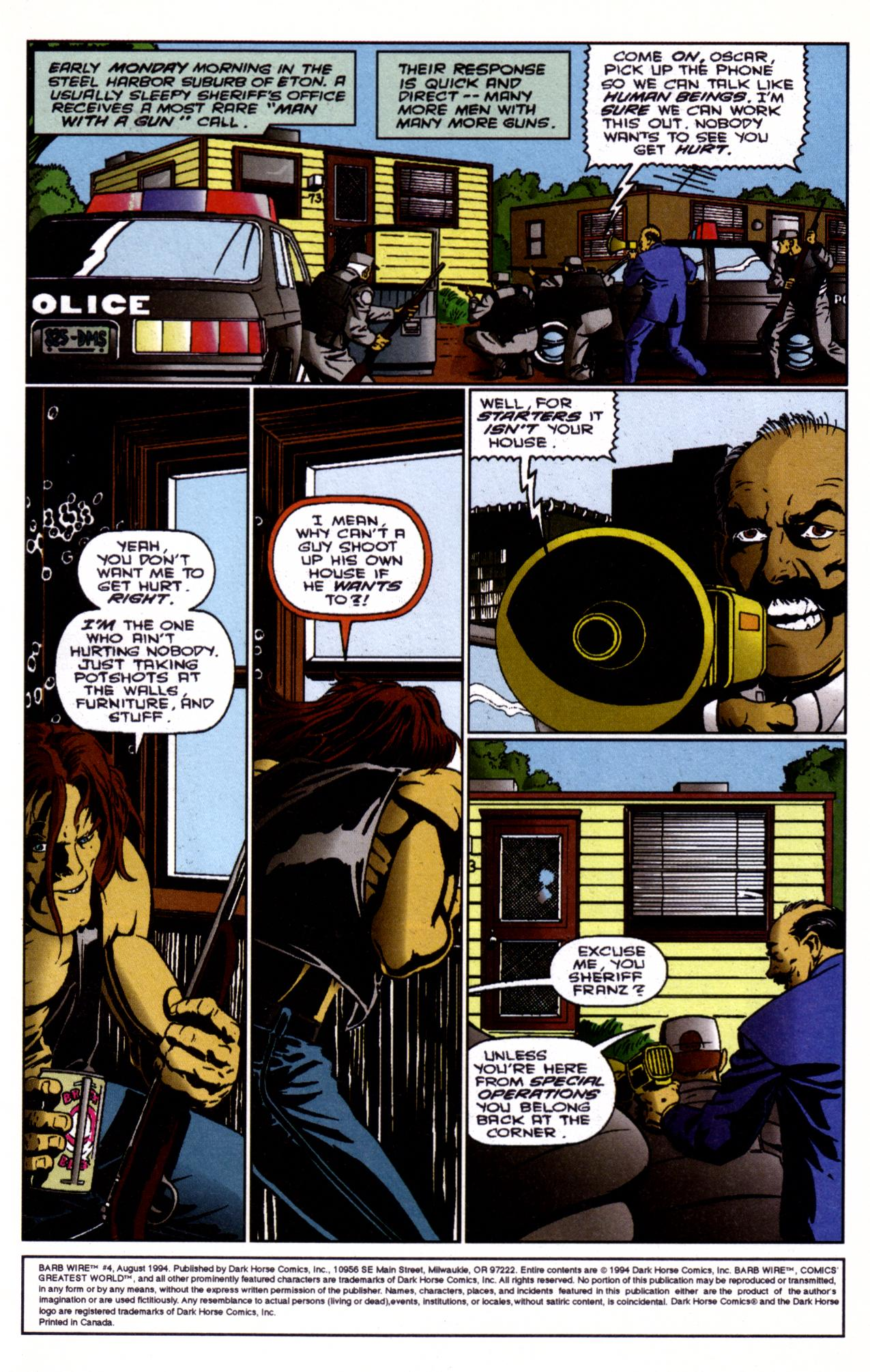Barb Wire (1994) issue 4 - Page 2