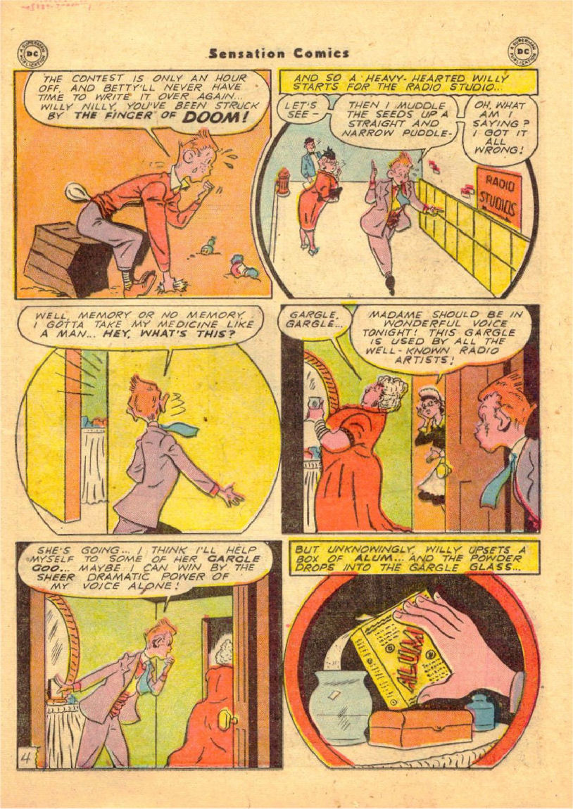 Read online Sensation (Mystery) Comics comic -  Issue #70 - 36
