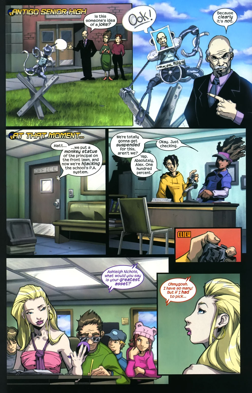 Read online Sentinel (2006) comic -  Issue #4 - 9