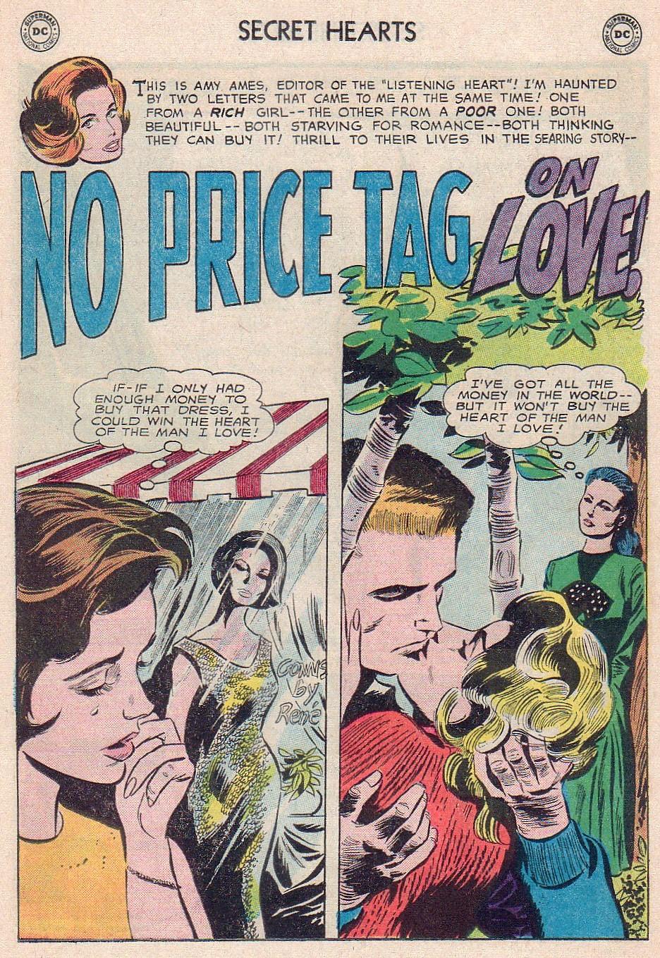 Read online Secret Hearts comic -  Issue #102 - 19