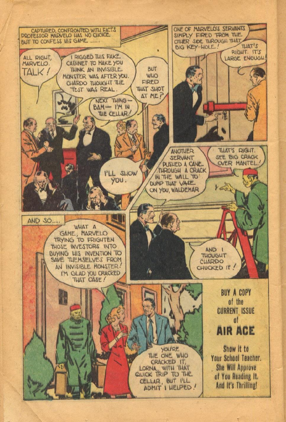 Read online Super-Magician Comics comic -  Issue #52 - 17
