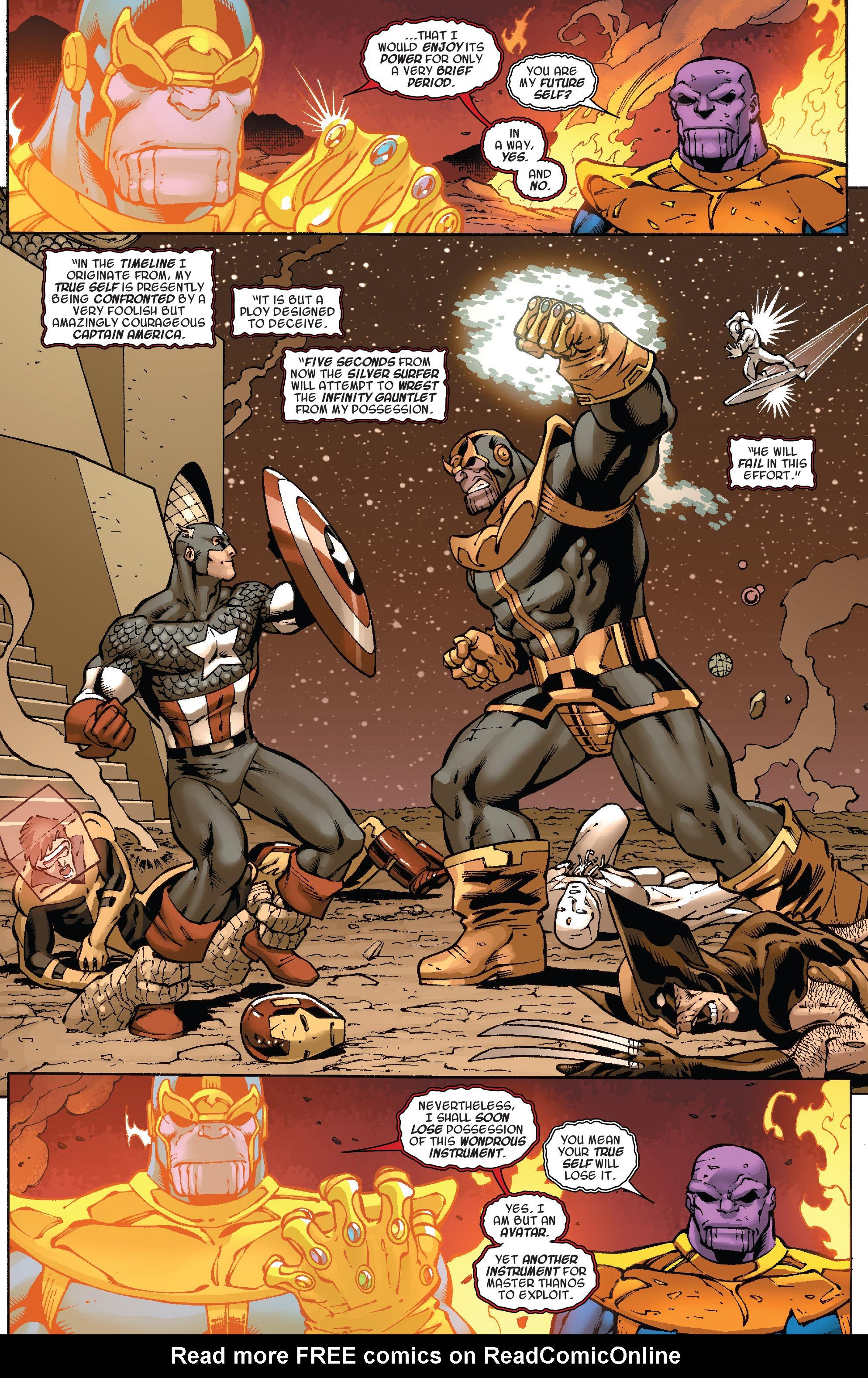 Read online Thanos Annual comic -  Issue # Annual - 14