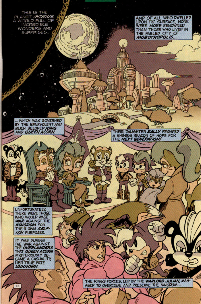 Read online Sonic Super Special comic -  Issue #2 - Brave new world - 4