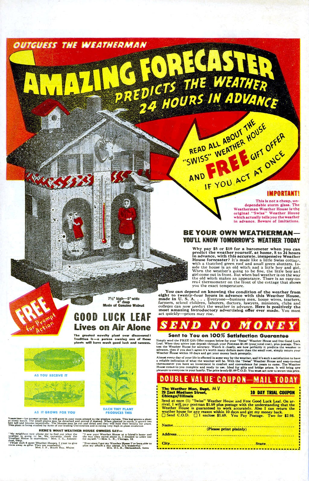 Read online Mystic Comics (1944) comic -  Issue #3 - 36