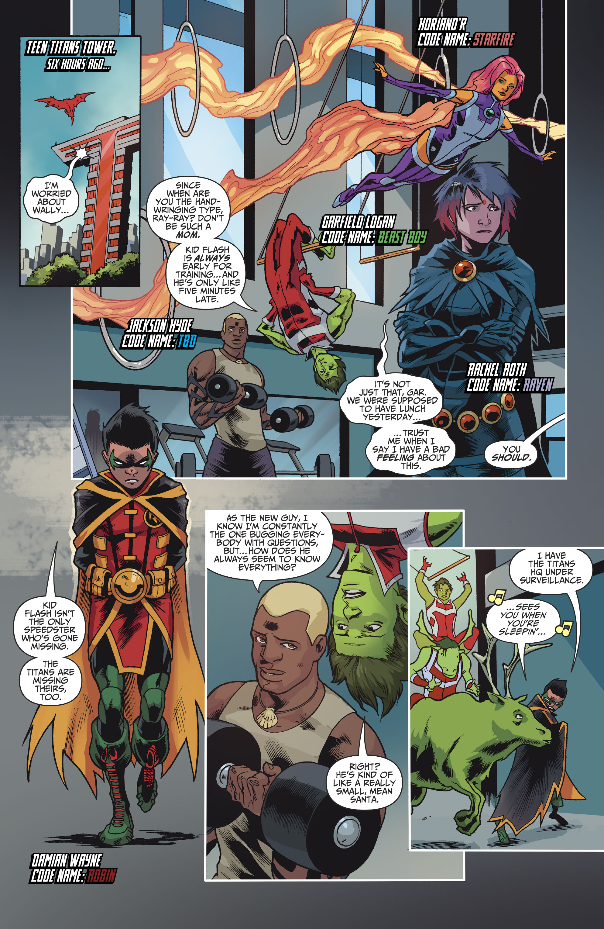 Read online Teen Titans (2016) comic -  Issue #8 - 7