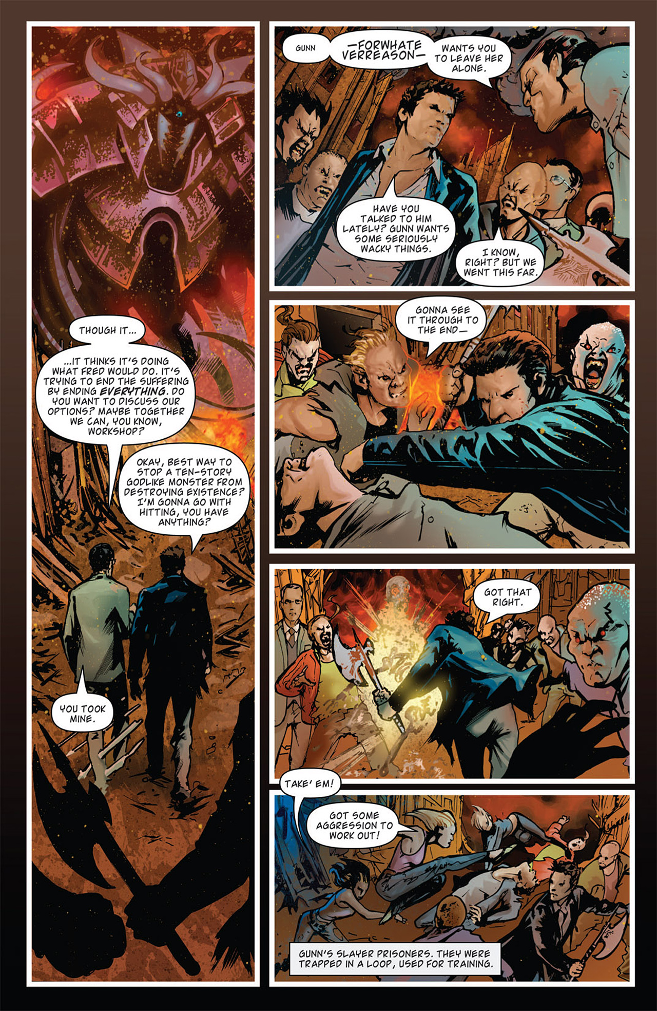 Read online Angel: After The Fall comic -  Issue #15 - 8