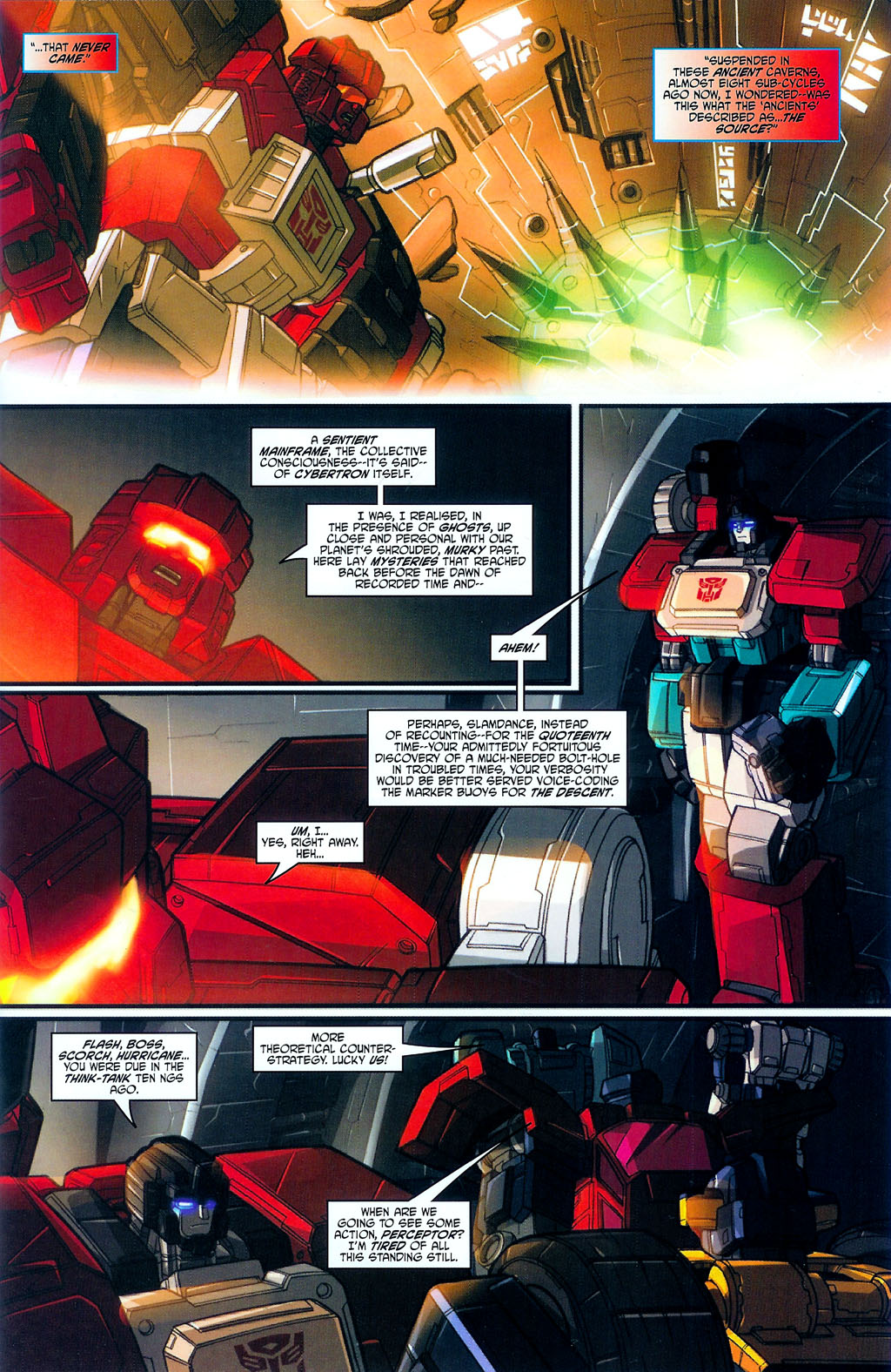 """Read online Transformers War Within: """"The Age of Wrath"""" comic -  Issue #3 - 4"""