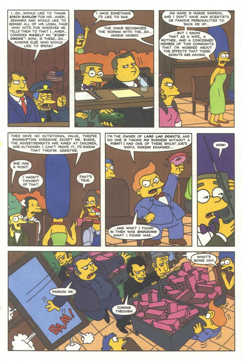 Read online Simpsons Comics comic -  Issue #38 - 18