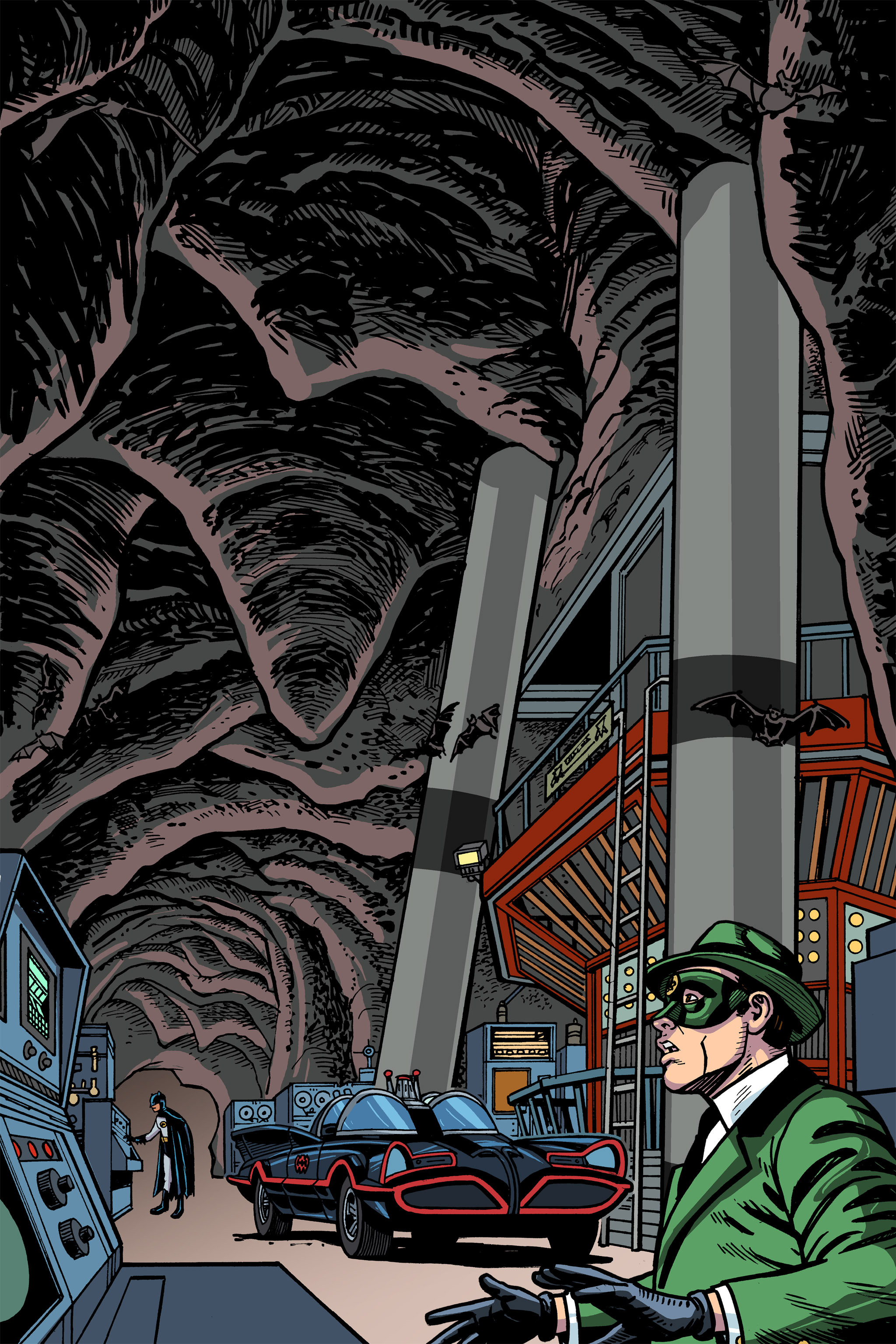 Read online Batman '66 Meets the Green Hornet [II] comic -  Issue #5 - 47