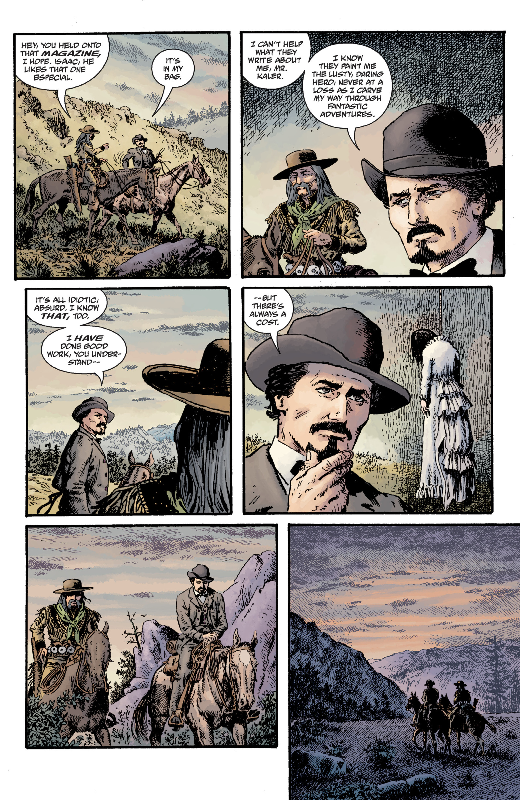 Read online Sir Edward Grey, Witchfinder: Lost and Gone Forever comic -  Issue # TPB - 50