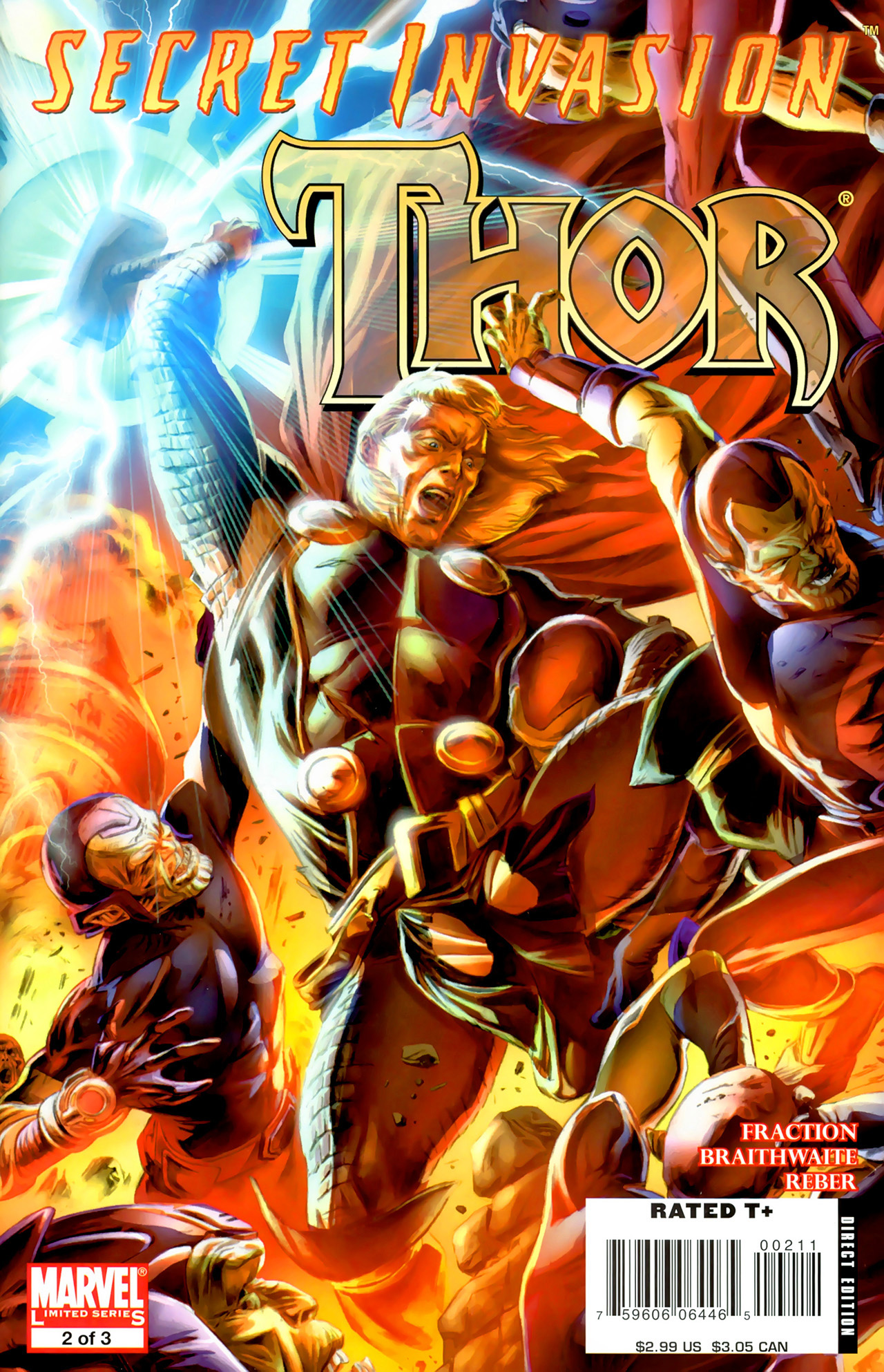 Read online Secret Invasion: Thor comic -  Issue #2 - 1