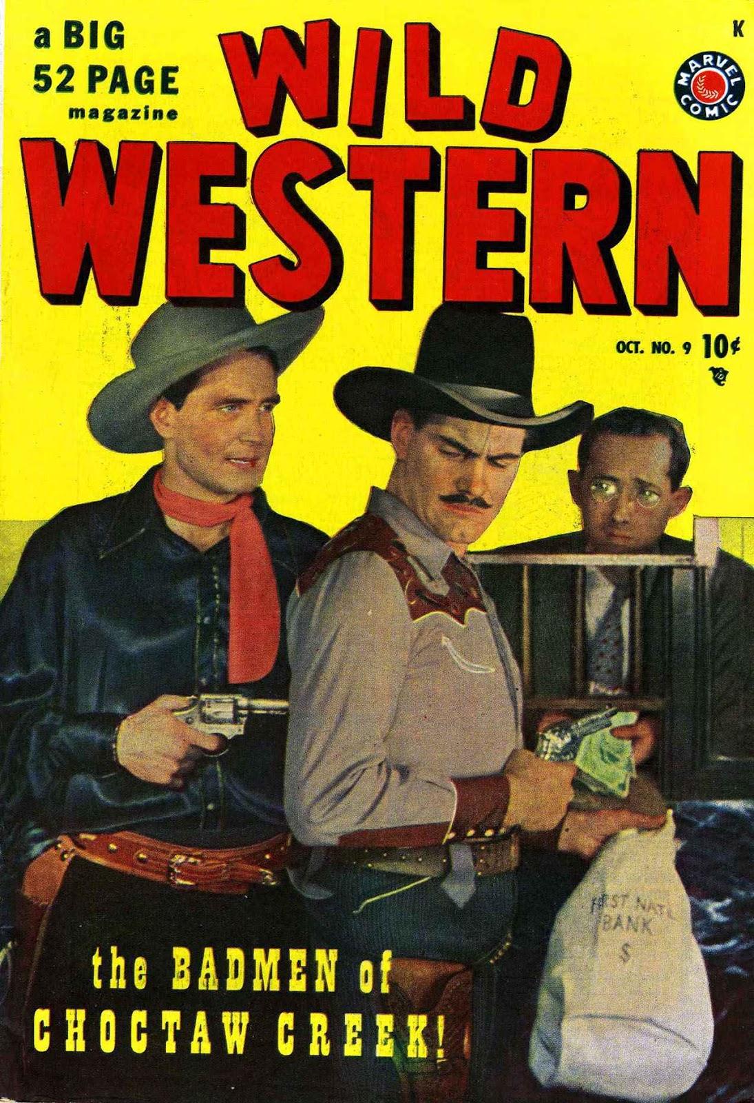 Wild Western issue 9 - Page 1