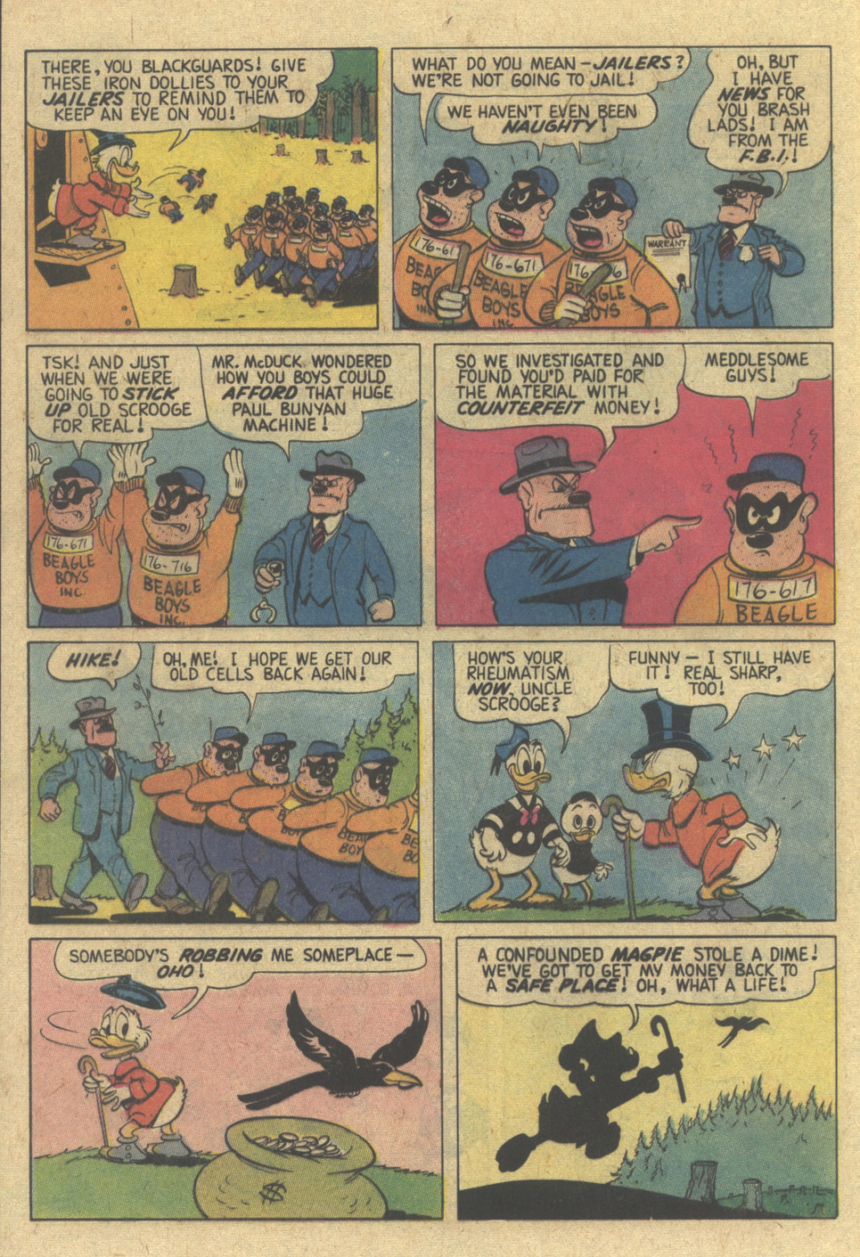 Read online Uncle Scrooge (1953) comic -  Issue #144 - 28