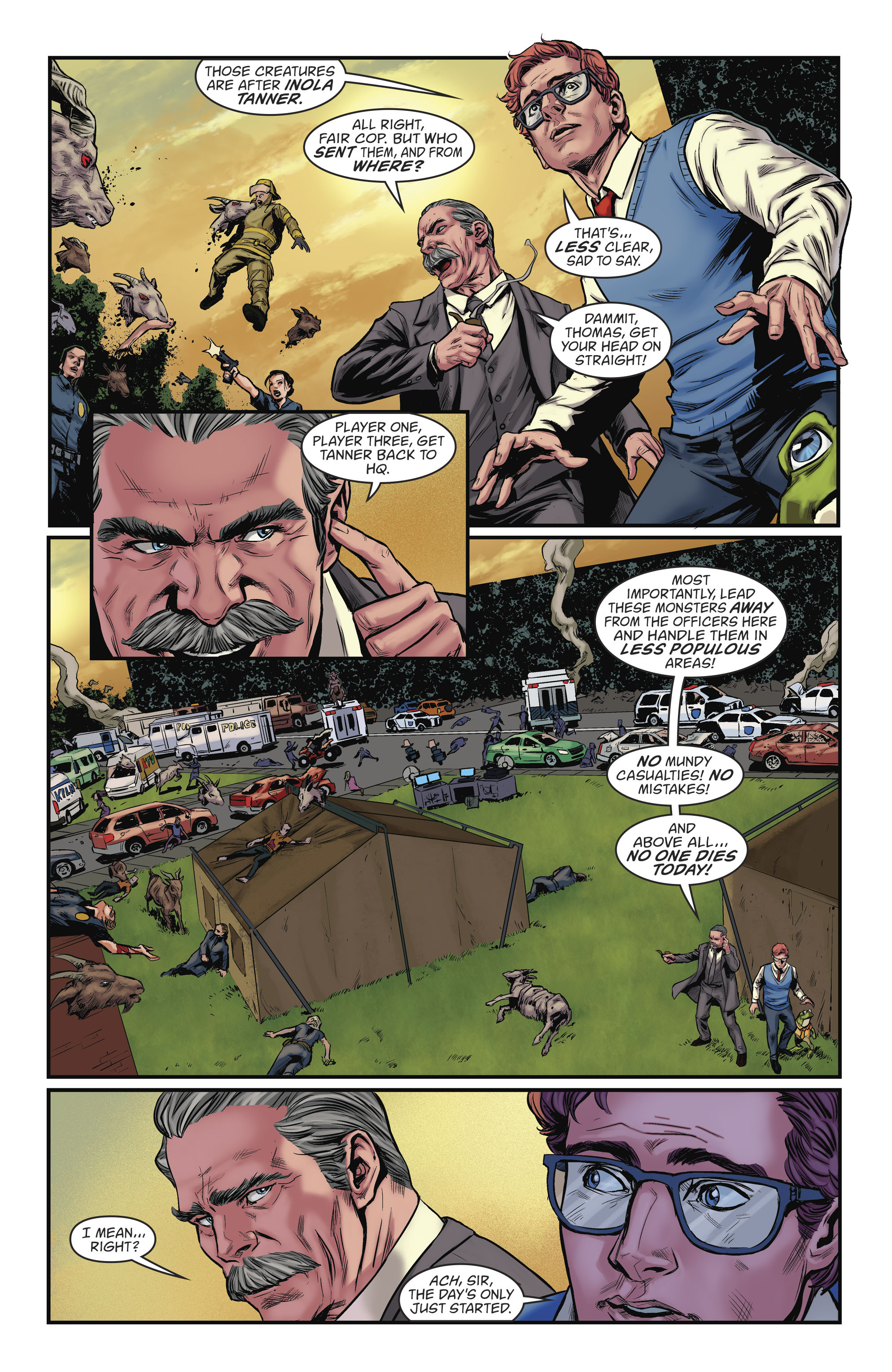 Read online Everafter comic -  Issue #9 - 12