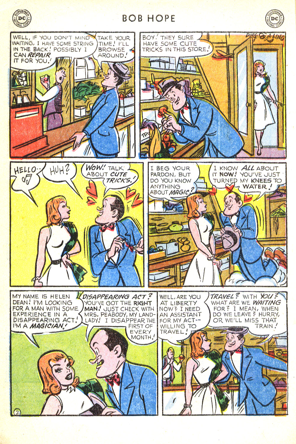 The Adventures of Bob Hope issue 30 - Page 4