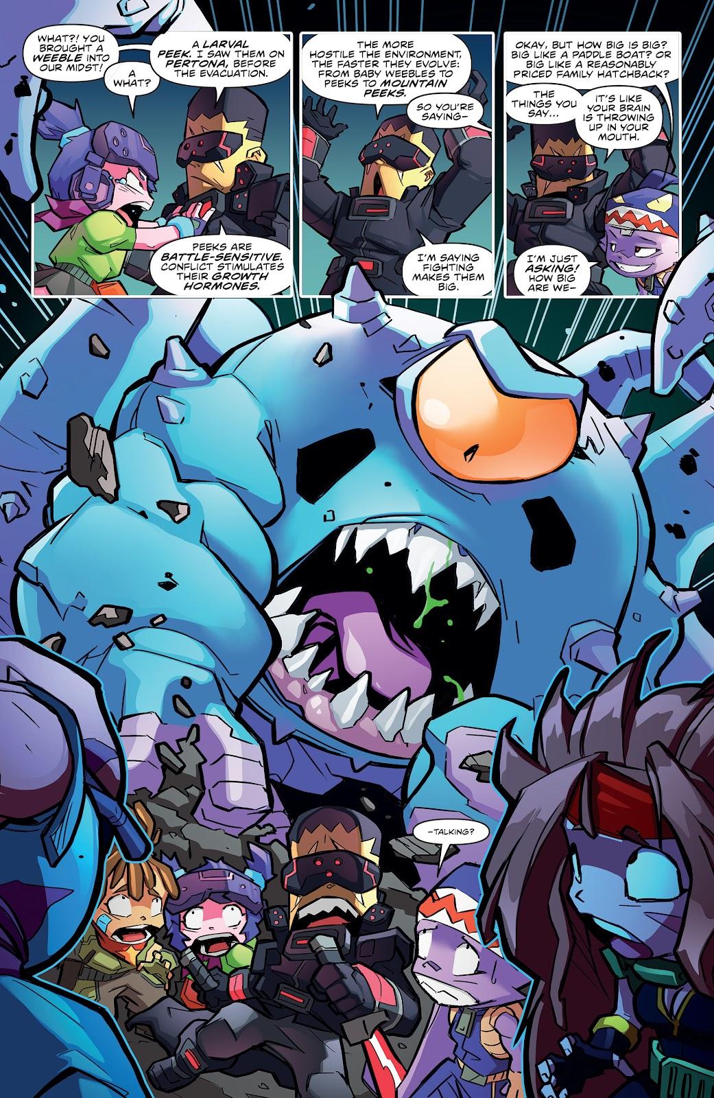 Read online Starcadia Quest comic -  Issue #3 - 6