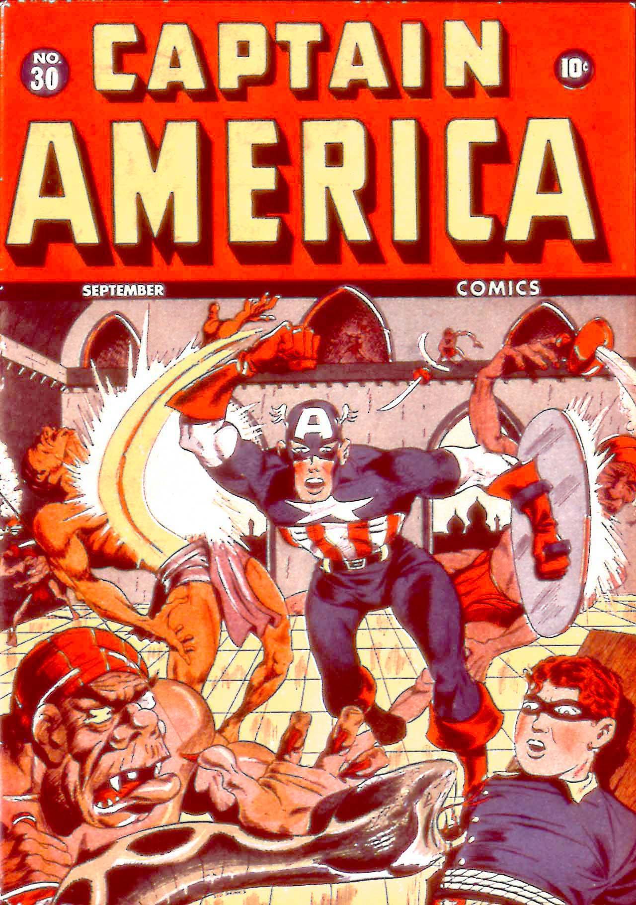 Captain America Comics 30 Page 1