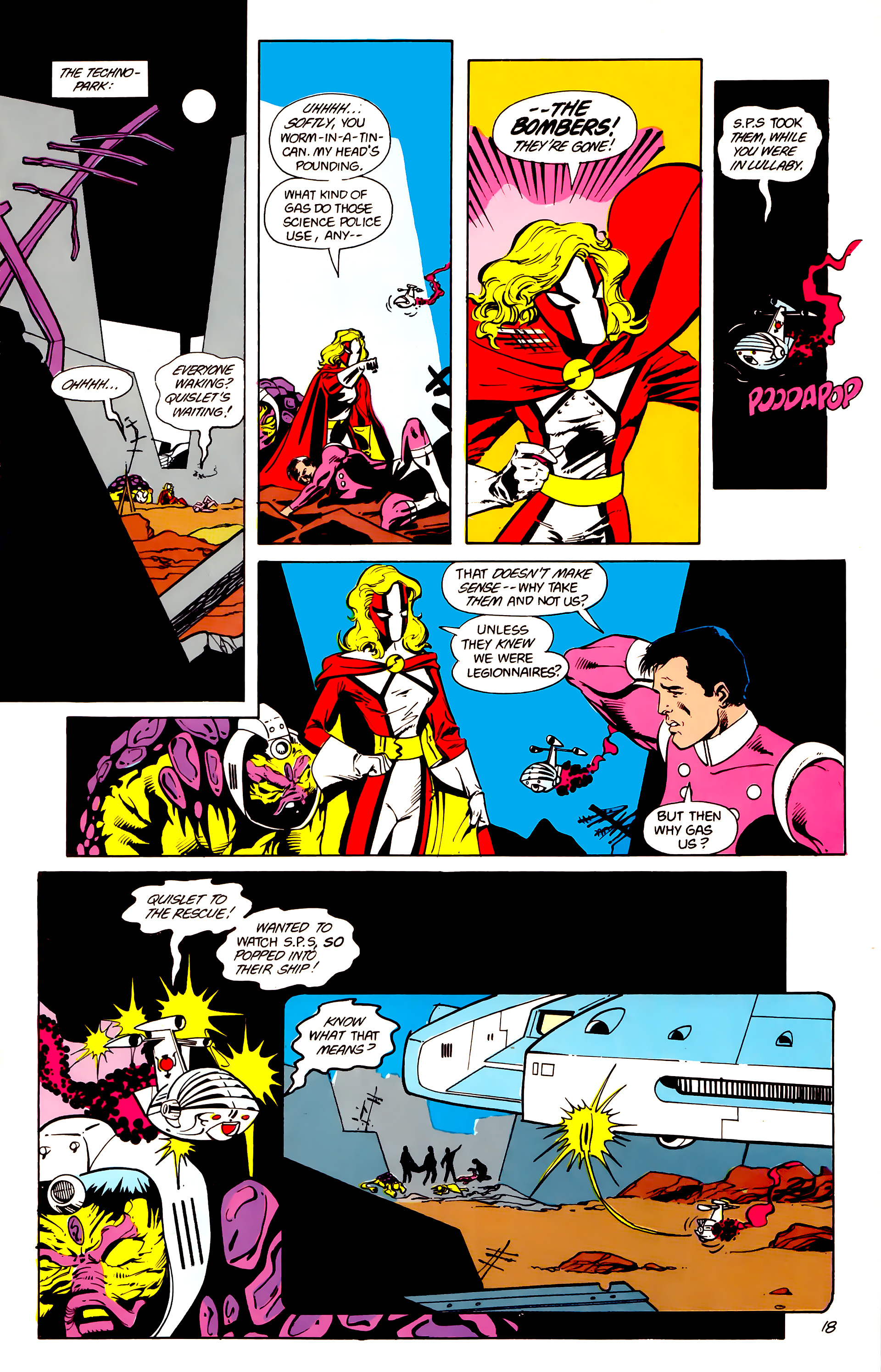 Legion of Super-Heroes (1984) 16 Page 19
