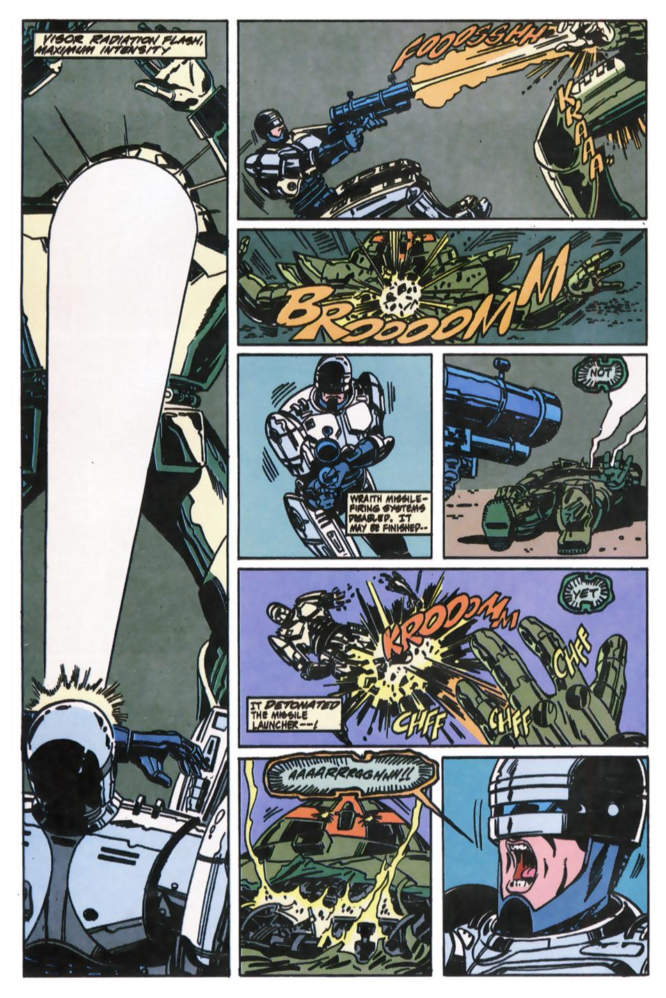 Read online Robocop (1990) comic -  Issue #11 - 19