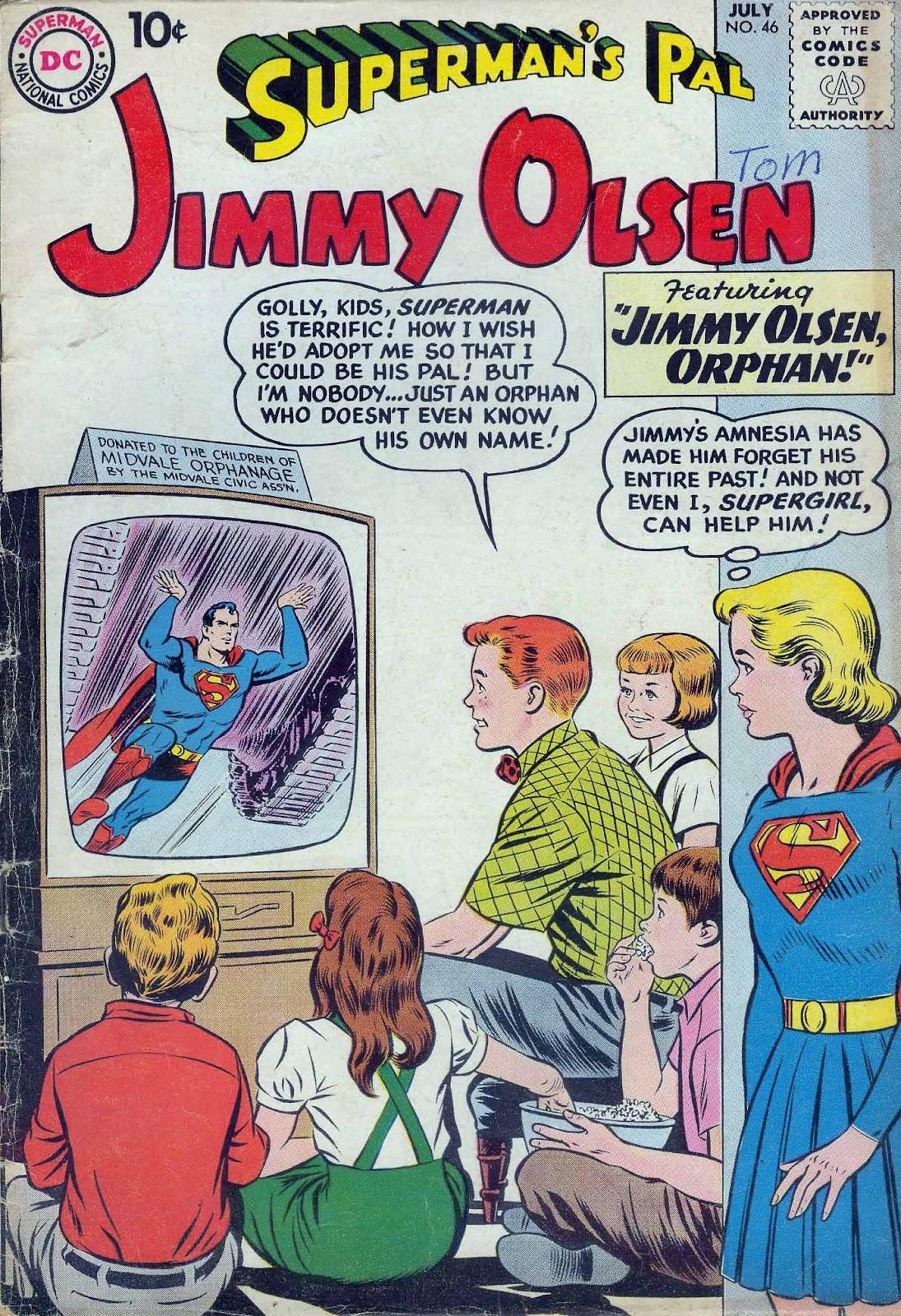 Supermans Pal Jimmy Olsen (1954) 46 Page 1