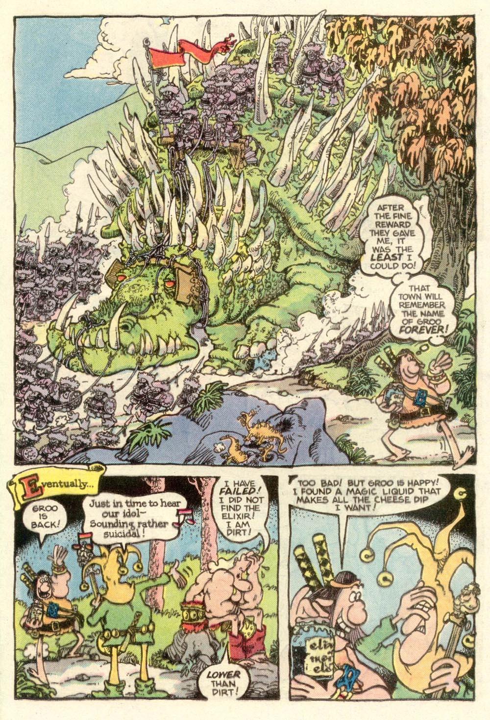Read online Sergio Aragonés Groo the Wanderer comic -  Issue #11 - 17