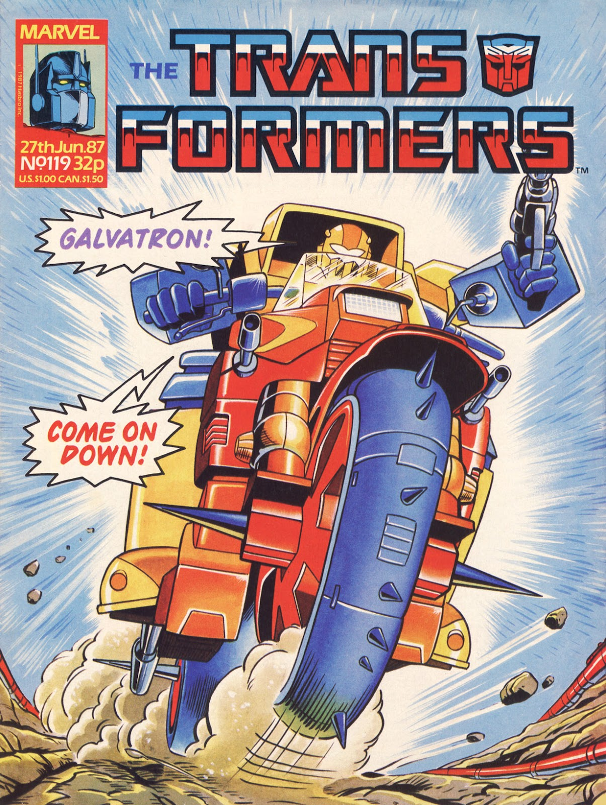 The Transformers (UK) 119 Page 1