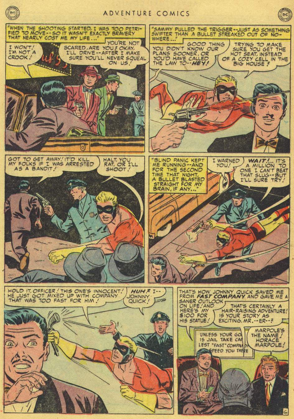 Read online Adventure Comics (1938) comic -  Issue #162 - 22