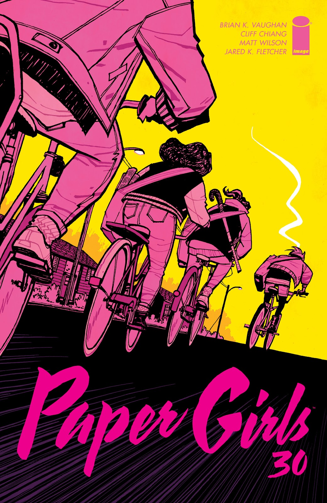 Paper Girls issue 30 - Page 1
