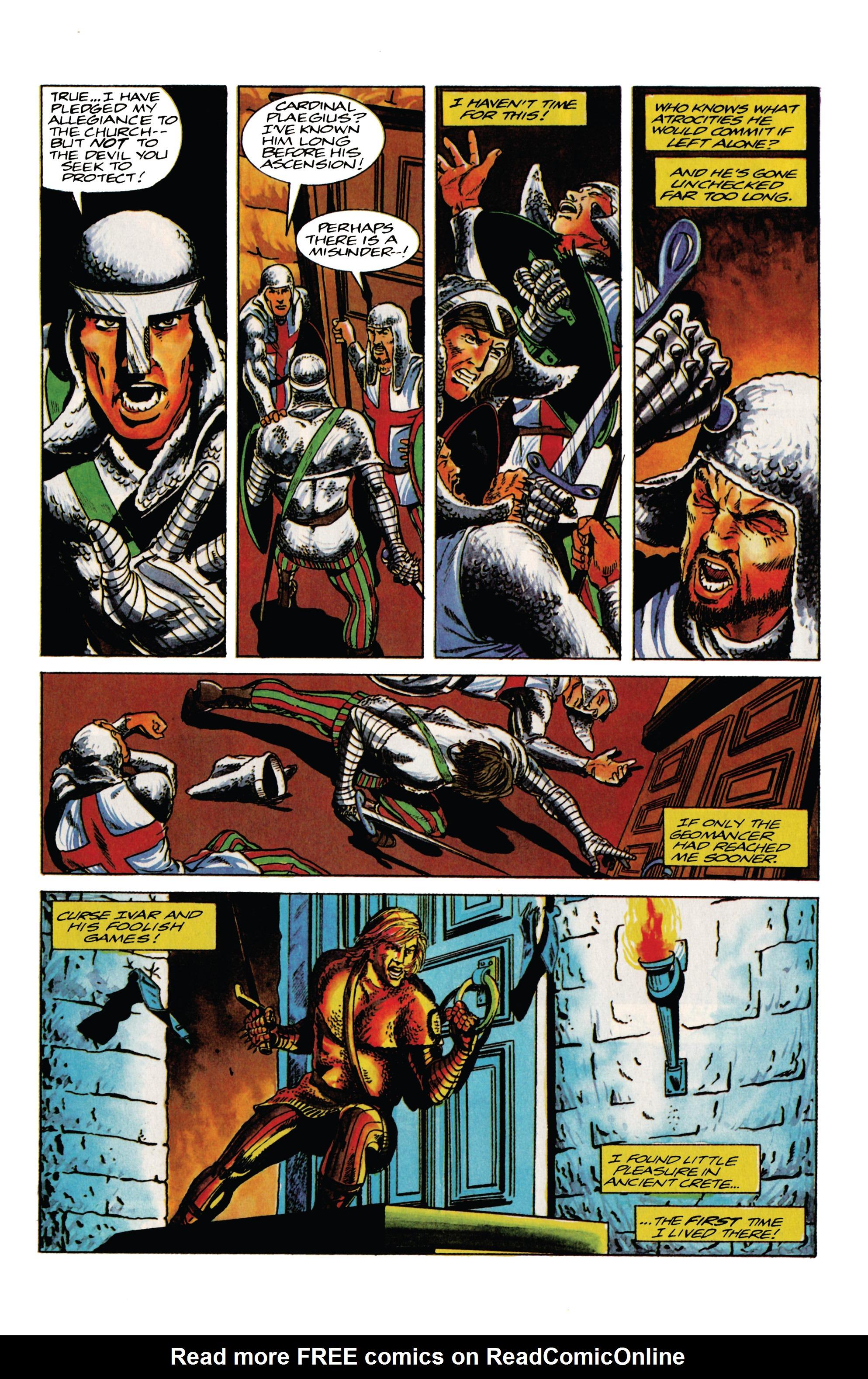 Read online Eternal Warrior (1992) comic -  Issue #13 - 4