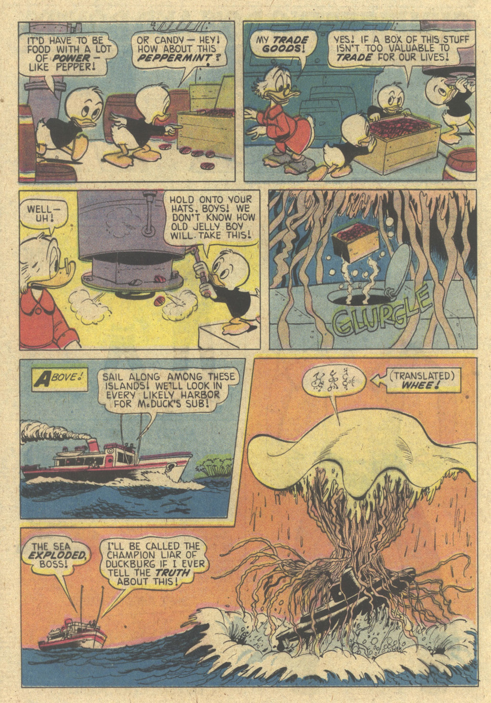 Read online Uncle Scrooge (1953) comic -  Issue #174 - 20