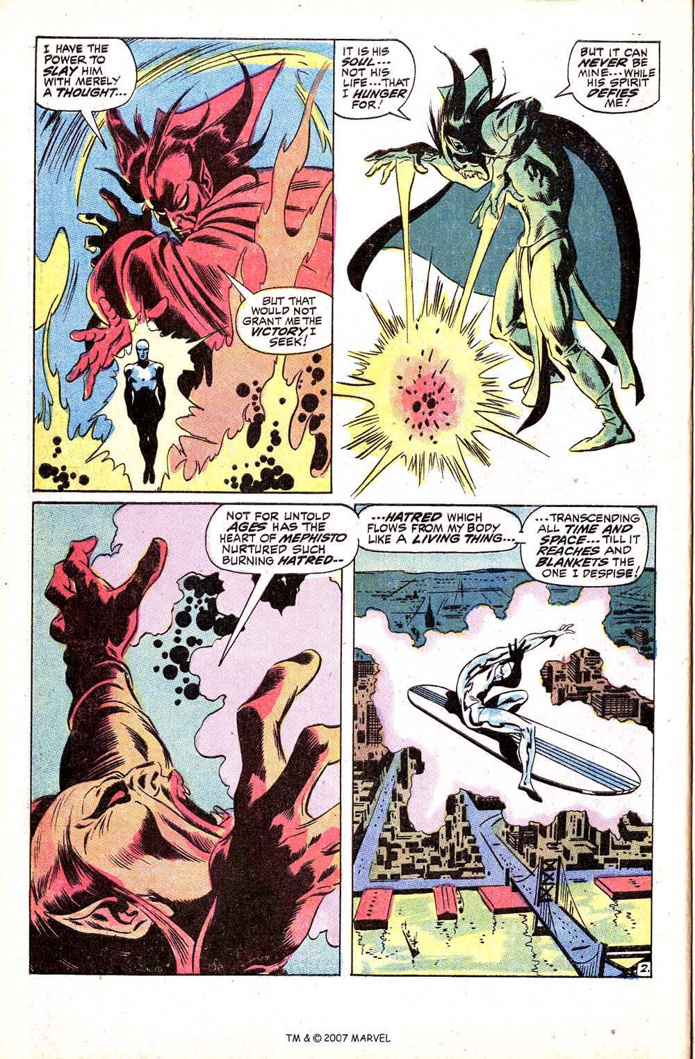 Read online Silver Surfer (1968) comic -  Issue #8 - 4