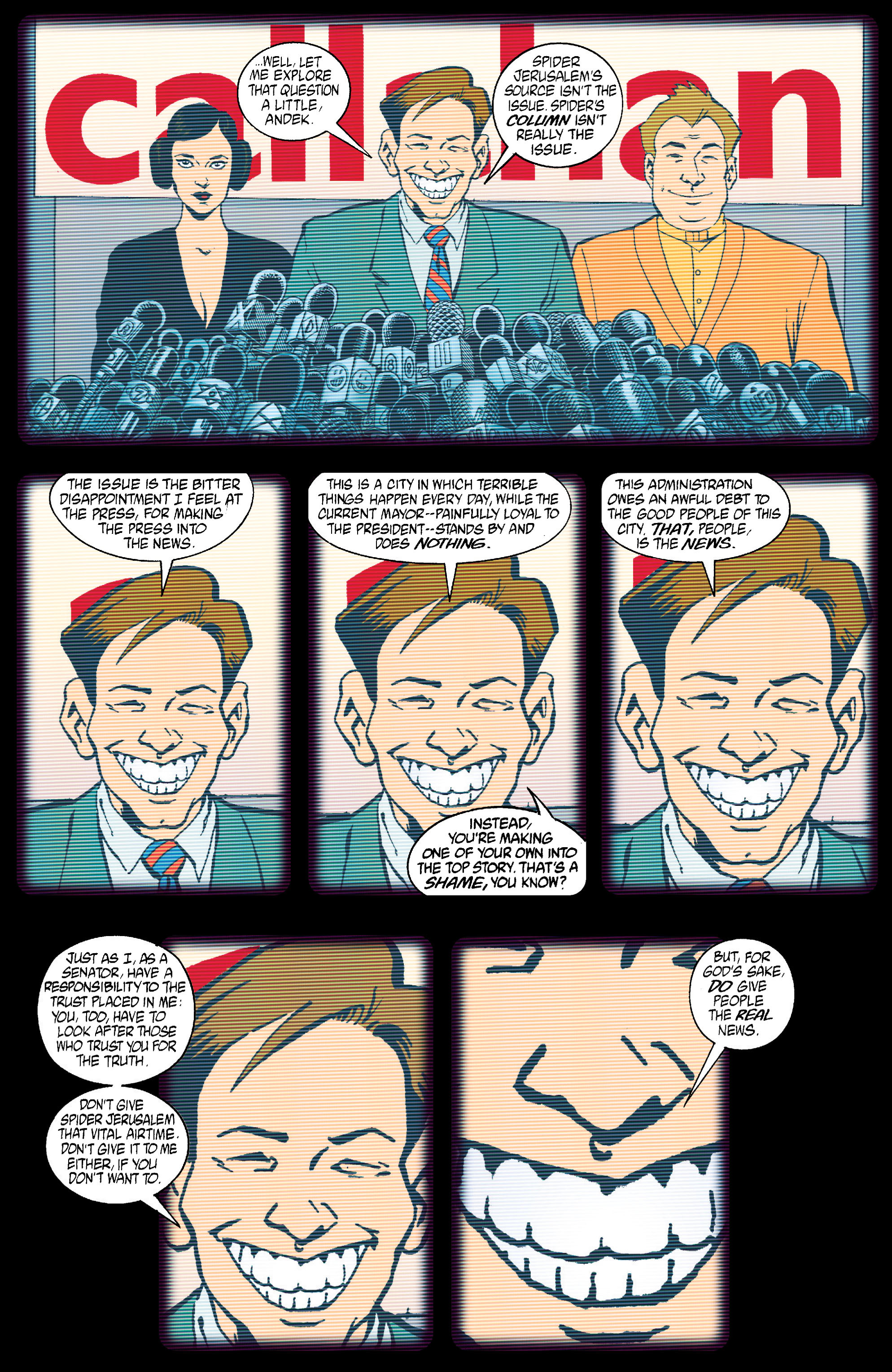 Read online Transmetropolitan comic -  Issue #15 - 8