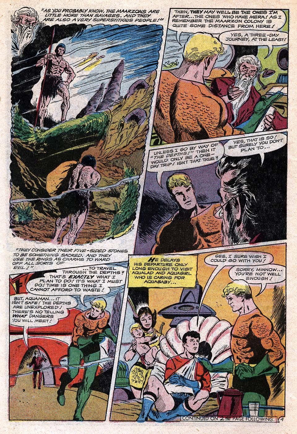 Read online Aquaman (1962) comic -  Issue #41 - 6