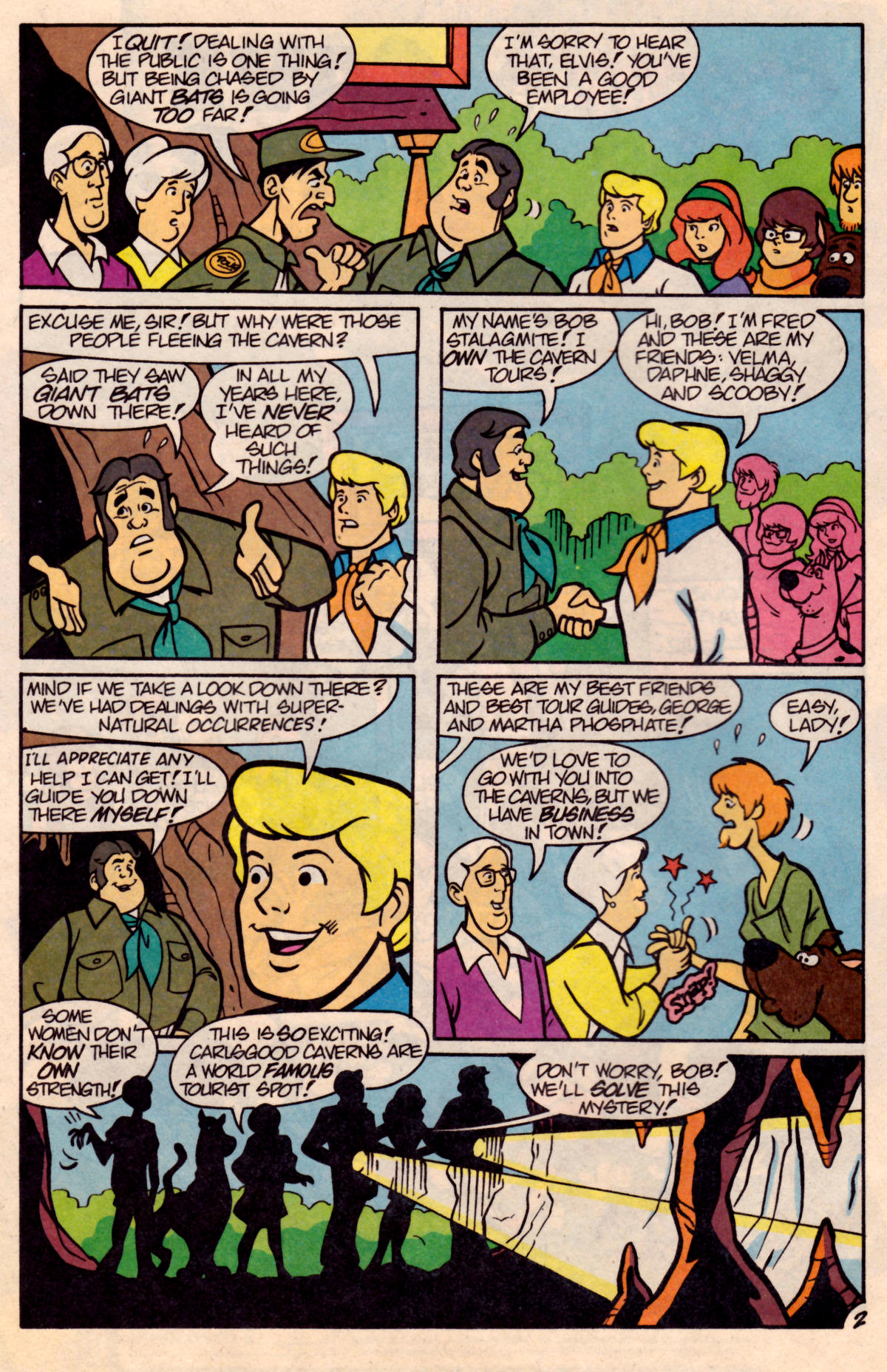 Read online Scooby-Doo (1995) comic -  Issue #18 - 19