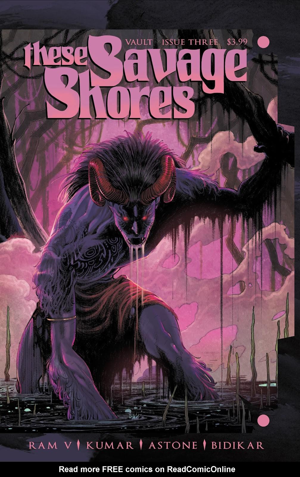 Read online These Savage Shores comic -  Issue #3 - 1
