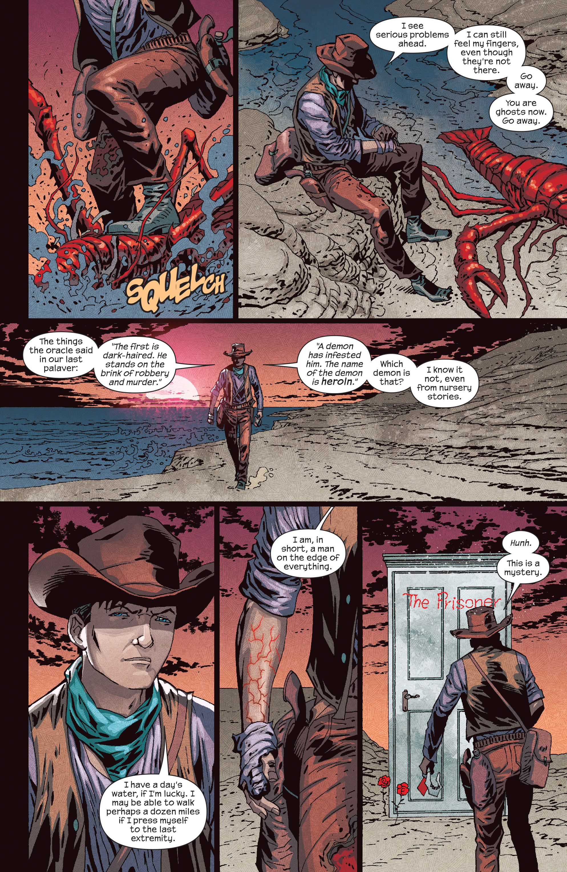 Read online Dark Tower: The Drawing of the Three - The Prisoner comic -  Issue #5 - 7