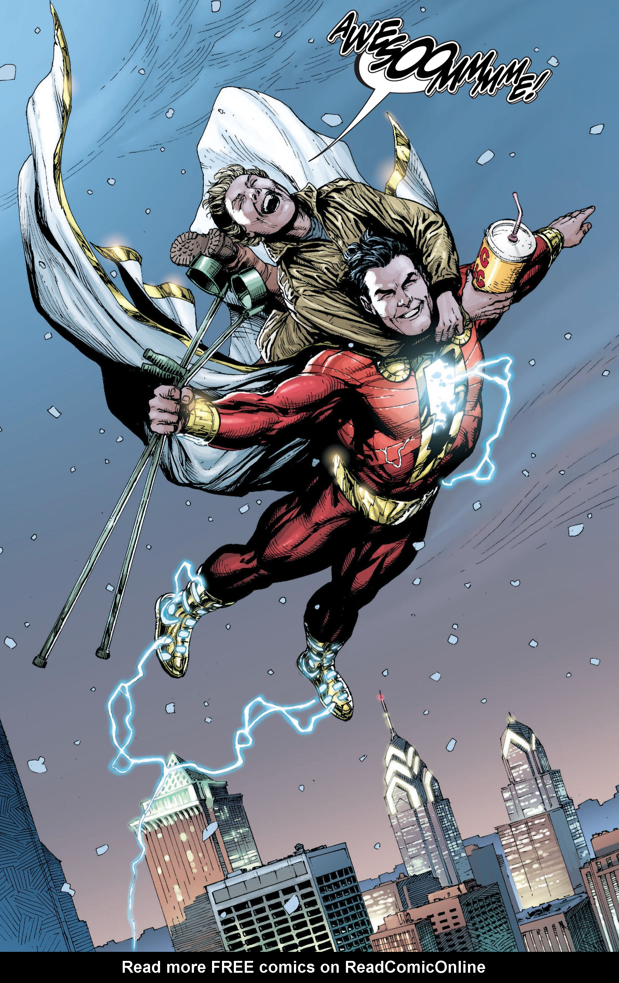 Read online Shazam! (2013) comic -  Issue #1 - 109