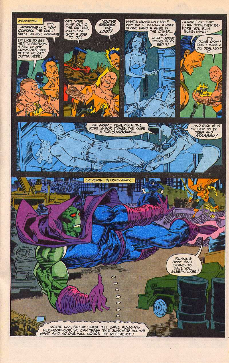 Read online Sleepwalker comic -  Issue #21 - 20