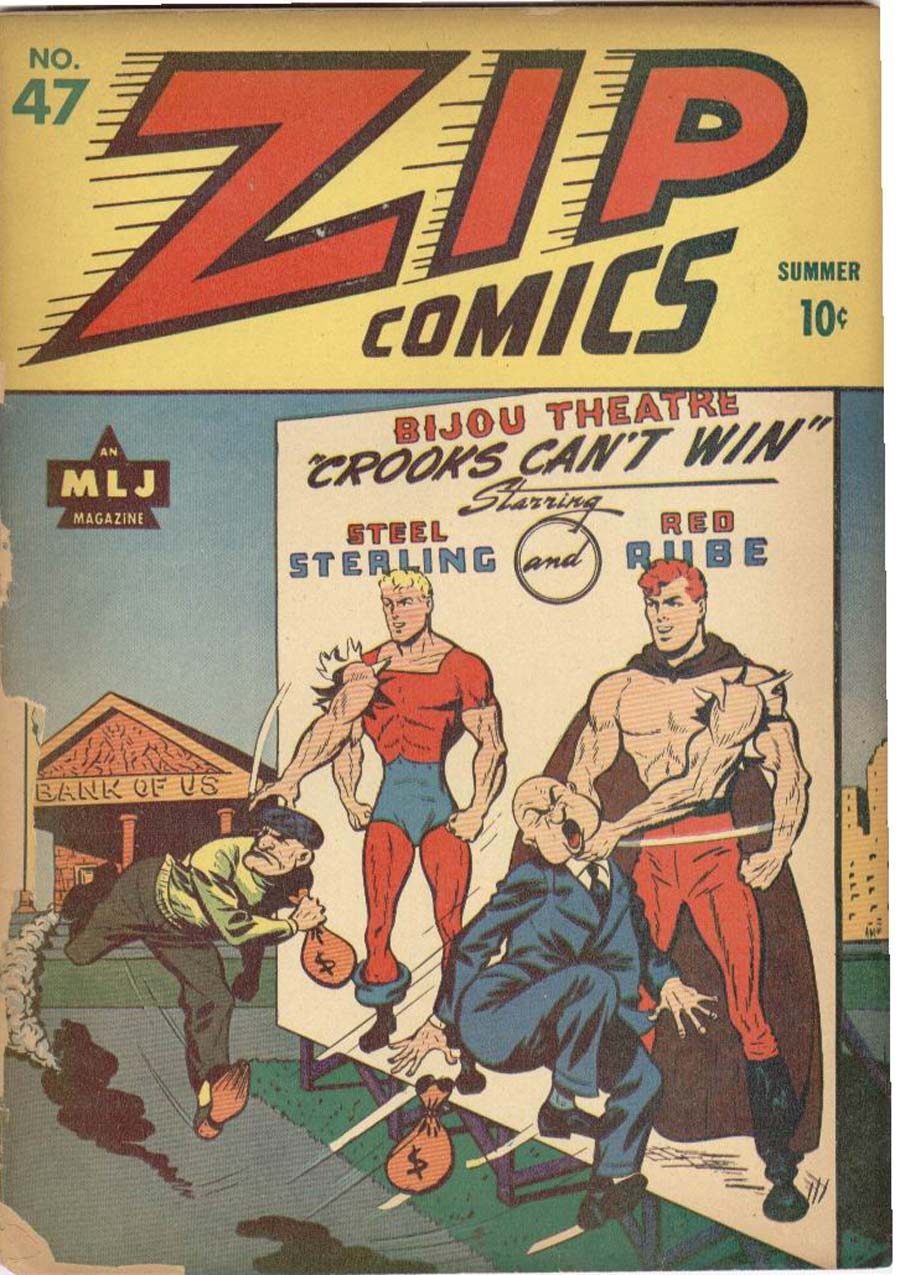 Zip Comics issue 47 - Page 2