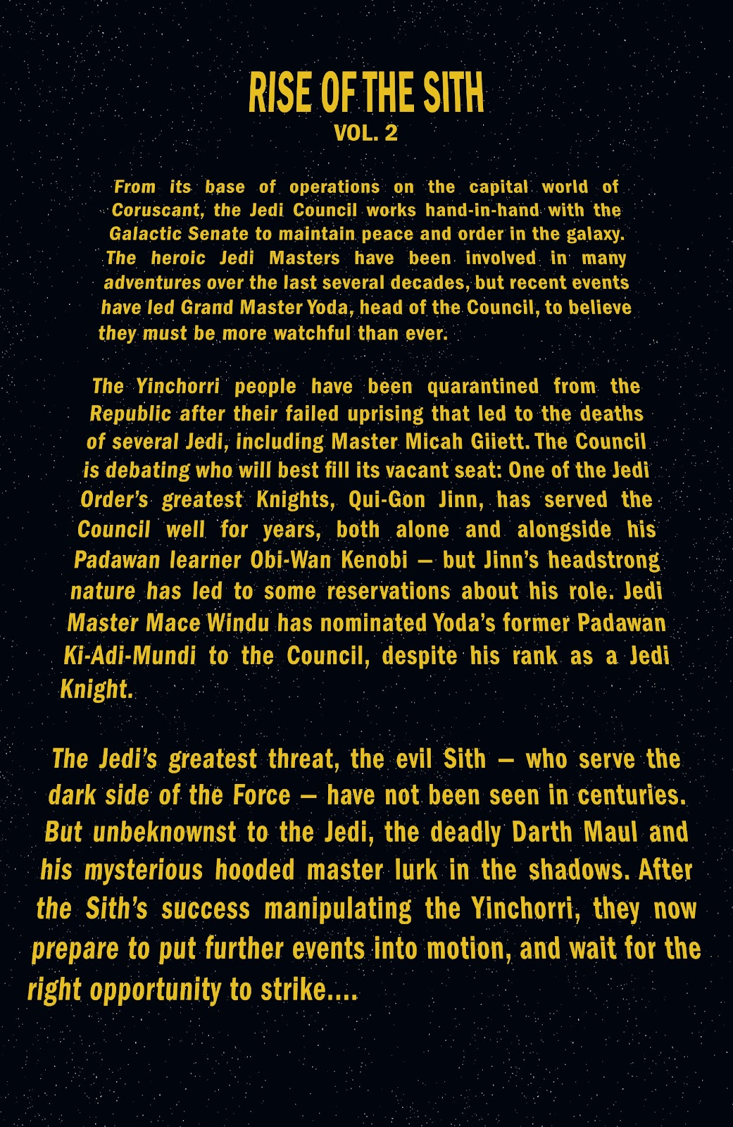 Read online Star Wars Legends: Rise of the Sith - Epic Collection comic -  Issue # TPB 2 (Part 1) - 5