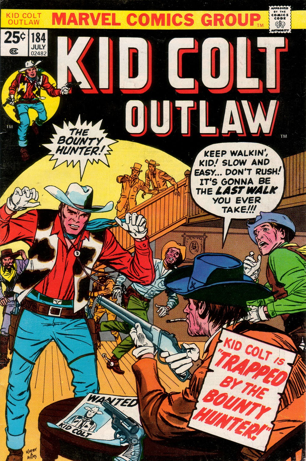 Kid Colt Outlaw issue 184 - Page 1