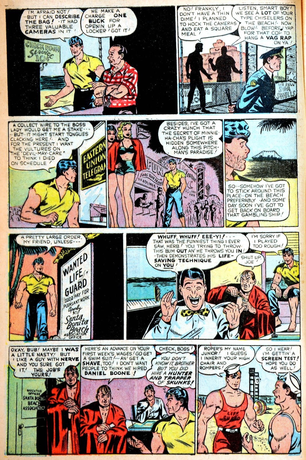 Read online Famous Funnies comic -  Issue #195 - 6