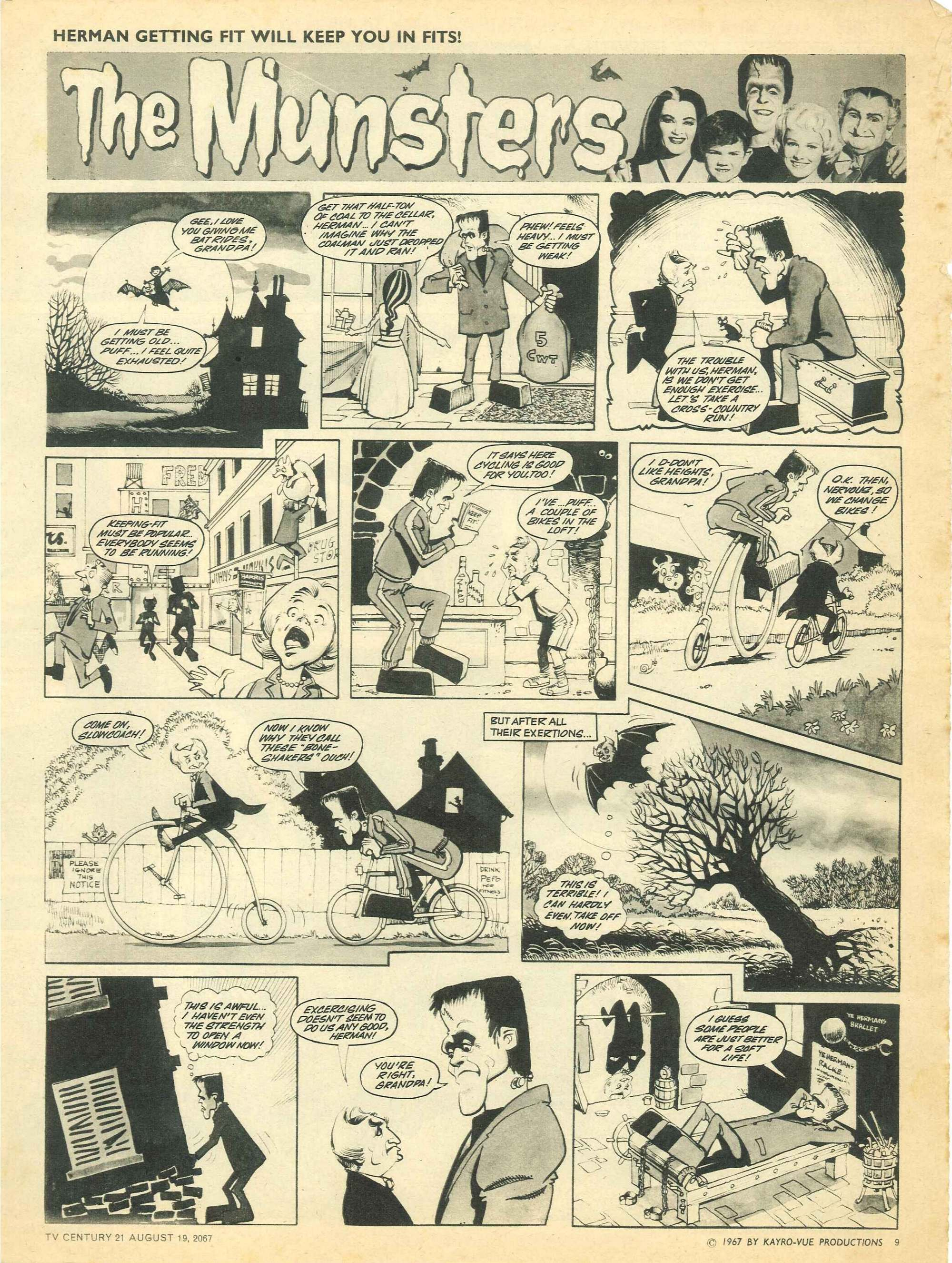 Read online TV Century 21 (TV 21) comic -  Issue #135 - 9